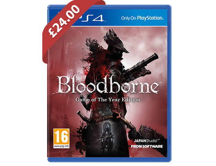 Bloodborne Game Of The Year (PS4) - £24 @ Tesco