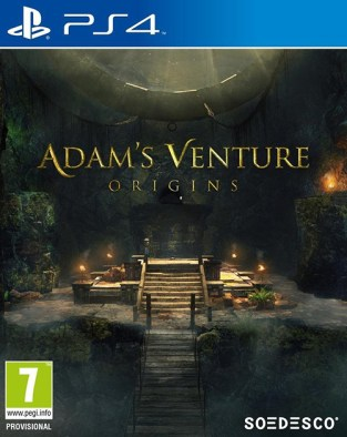 Adam's Venture: Origins PS4 Cover