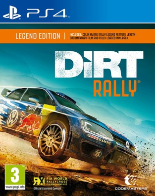 DiRT Rally PS4 Cover