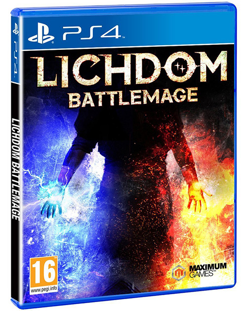 Lichdom: Battlemage PS4 Cover