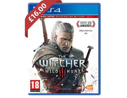 The Witcher 3 (PS4) - £16.00 @ Tesco Direct