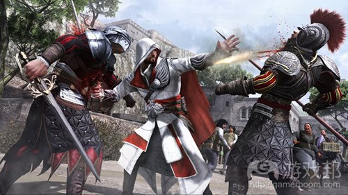 Assassin's Creed Brotherhood(from gamasutra)