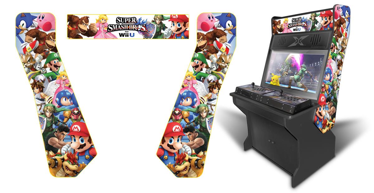Customer submitted super smash bros wii u characters for Room wraps