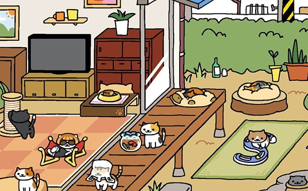 Neko Atsume Kitty Collector free windows
