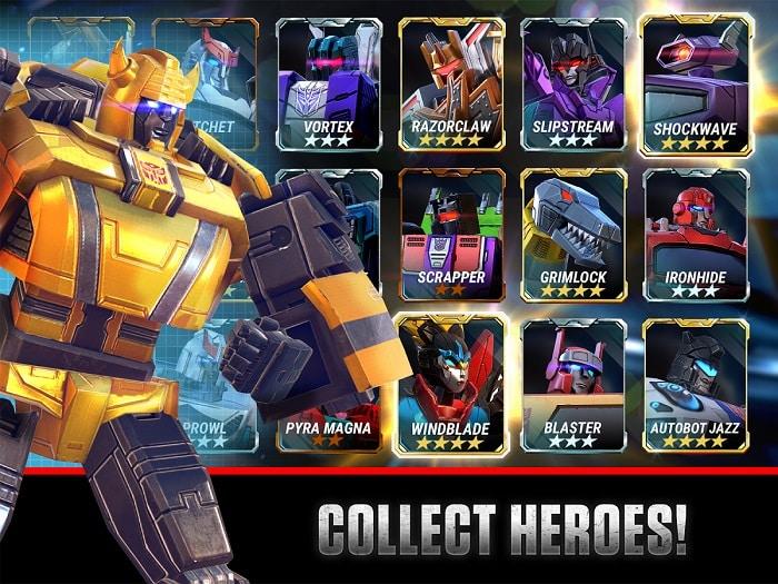 download Transformers Earth Wars windows apk