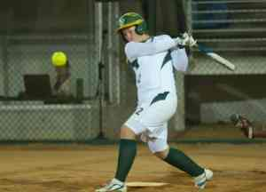 softball hit