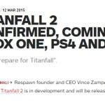 『タイタンフォール2』PS4/XboxOne/PCで発売