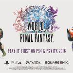 [更新:公式サイトがオープン]スクエニ PS4/Vita『ワールド オブ ファイナルファンタジー』発表!2016年リリースへ