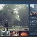 PC版『NieR: Automata』Steamストアページがオープン