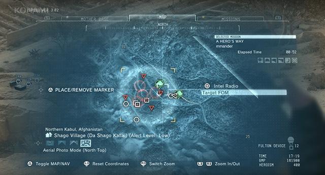 マップ画面では詳細情報が参照できる