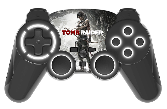 "Hardware: PS3 – RF Wireless-Controller ""Tomb Raider"""