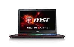 MSI GE72-6QF16H21 43,9 cm (17,3 Zoll) Notebook (Intel Core i7 -6700HQ (Skylake), 16GB DDR4 RAM, 1TB HDD, 256GB SSD, NVIDIA Geforce GTX 970M, Win 10 Home) schwarz - 1