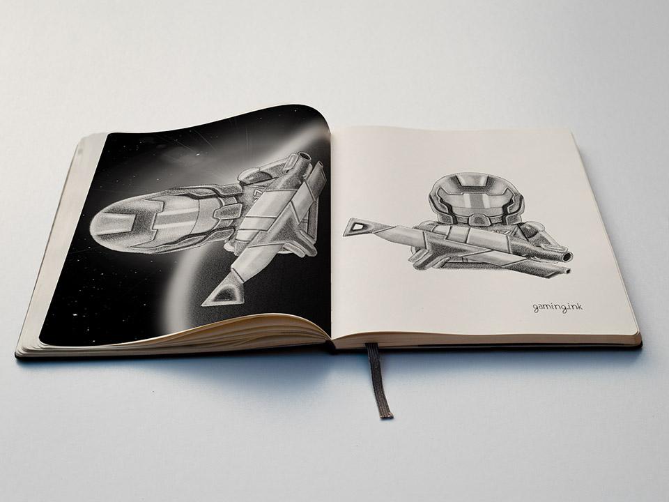 Com. Shepard SketchBook 960