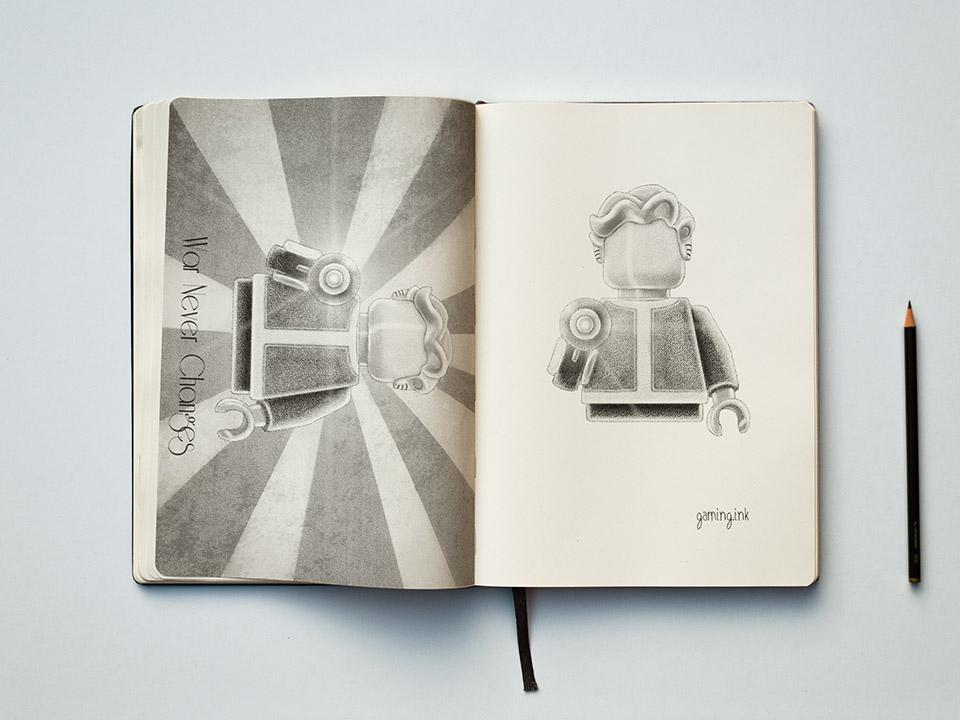 Vault Boy Sketchbook 960