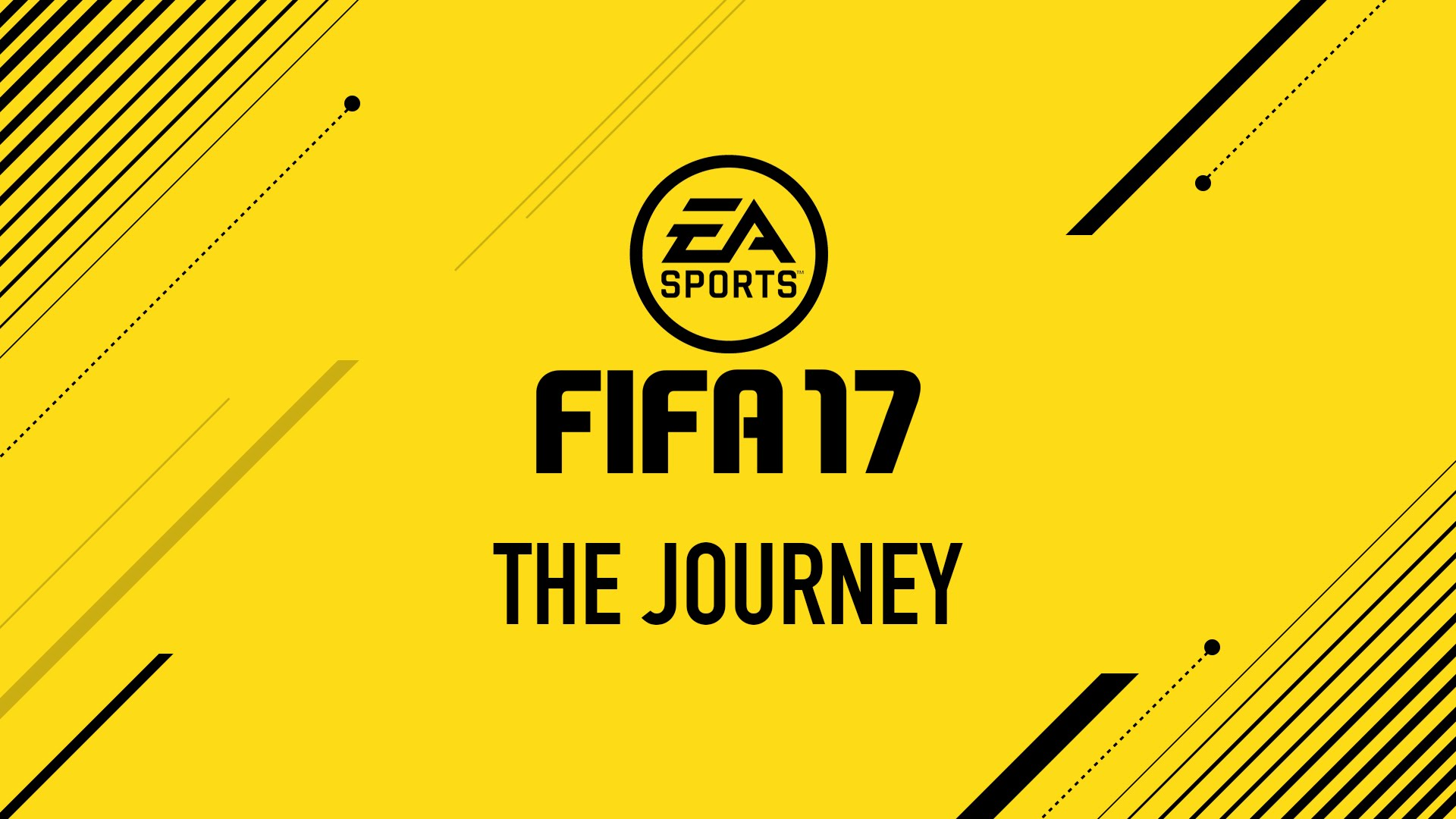 Poster for FIFA 17 the Journey