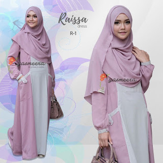 Gamis Yasmeera Raisa Dress R-1