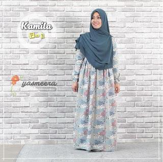 Gamis Yasmeera Kamila Dress F3