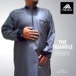 Baju Gamis Pakistan The Triangle Lengan Pendek Cowo