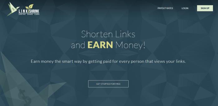 ganar dinero con linkshrink