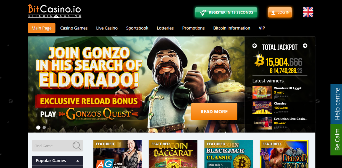 El casino de bitcoins