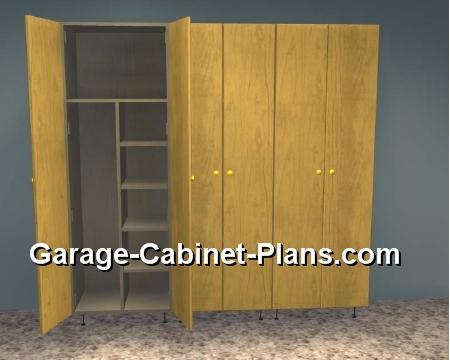 6 ft garage storage towers 15 deep garage cabinet plans
