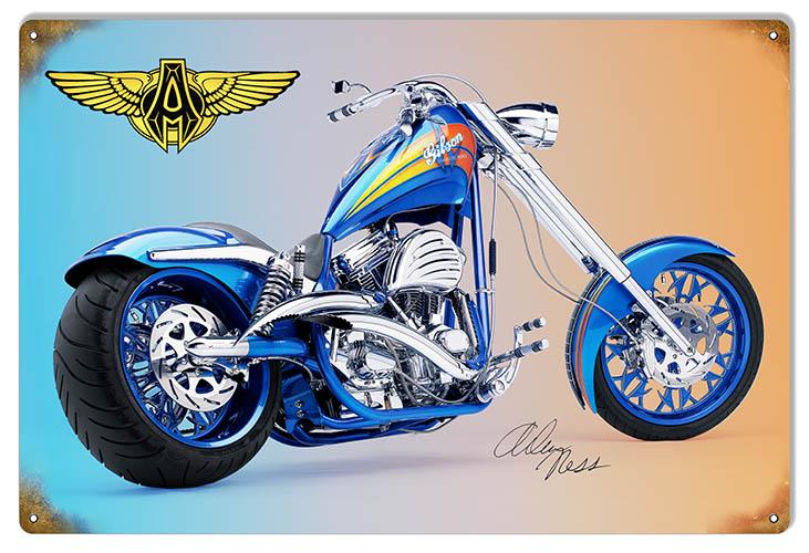 RG6764 Arlen Ness Custom Motorcycle