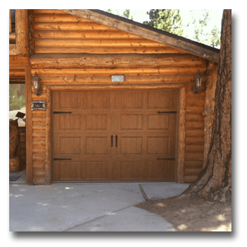 Steel Insulated Ultra Grain Garage Door