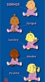 langage des signes - bébé dormir