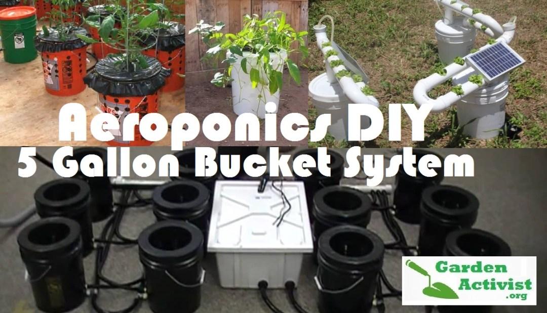 aeroponic DIY system bucket 2
