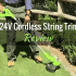 """Greenworks 12"""" 24V Cordless String Trimmer (21342): Product Review"""