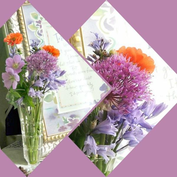 sm allium vase