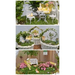 Excellent How To Make A Fairy Garden Easter Basket Fairy Garden Garden Rapy Miniature Fairy Gardens Kits Miniature Fairy Gardens