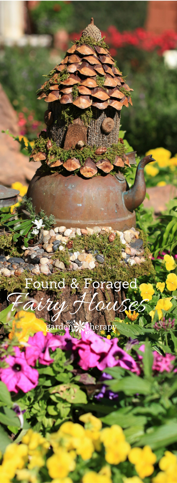 Rousing How To Make A Foraged Fairy House Inspiration Gallery Whimsical Foraged Fairy Houses You Would Think Were Actually Made By Fairy House Garden Ideas Fairy House Garden garden Fairy House Garden