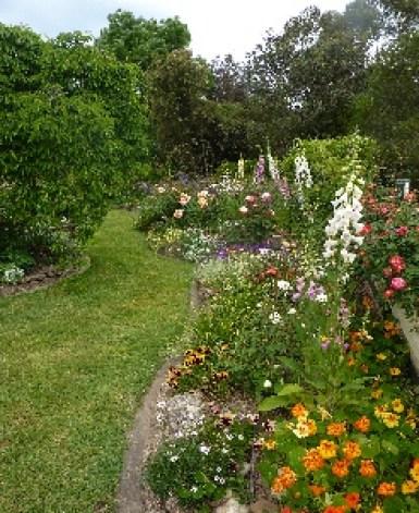 Richard and Gillian Steward garden