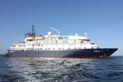Our luxury cruise ship, the Island Sky