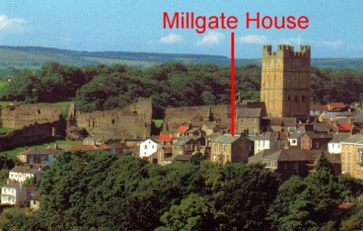 Millgate House in Richmond, Yorkshire