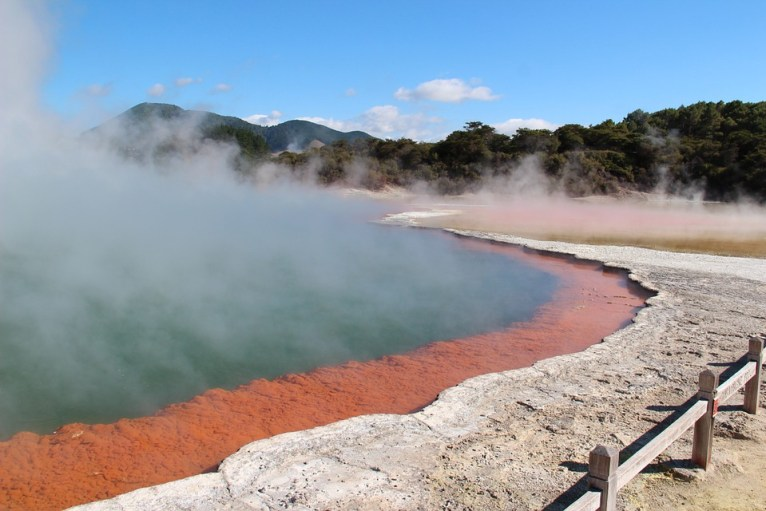 Boiling lake Rotorua, New Zealand