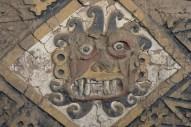 Peru, Trujillo - Incan-style traditional wall art