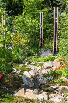Plant Evolution. Designed by: Michael Vinsun. Sponsored by: AP Matthews Nurseries & Rolawn. RHS Flower Show Tatton Park 2016.