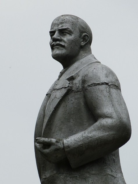 Statue of Lenin, Uglich, Russia