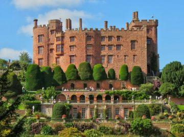 Powis Castle, Welshpool, Wales, United Kingdom.