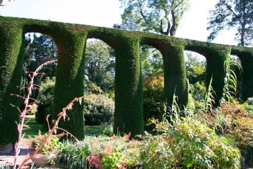 Mount Stewart garden near Belfast, Northern Ireland