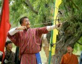 Archery competition, Bhutan