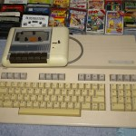 The C128 and datasette