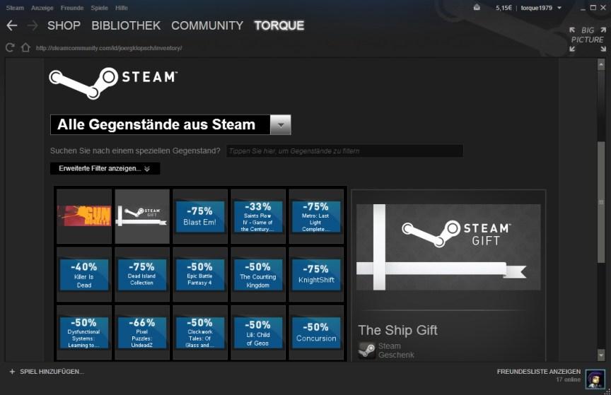 Steam Giveway Gewinnspiel