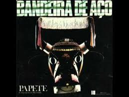 Capa do disco Bandeira de Aço até hoje o maior sucesso da música maranhense