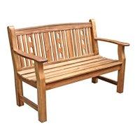 Dehner-Gartenbank-Bristol-2-Sitzer-ca-130-x-66-x-885-cm-FSC-Akazienholz-natur-0