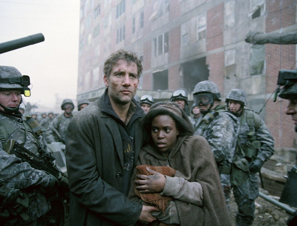 Children of Men (2006) 'Miracle Cease Fire' video clip:  30 Christmas Movies
