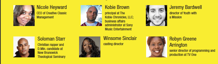 "Speaker and Panelist Bios for Princeton's ""For Such a Time As This"" Media Conference"