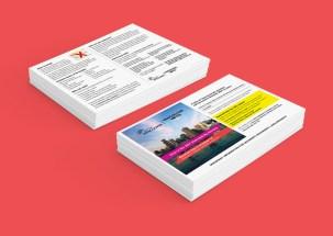 """""""Vote""""   Postcard Mailouts"""